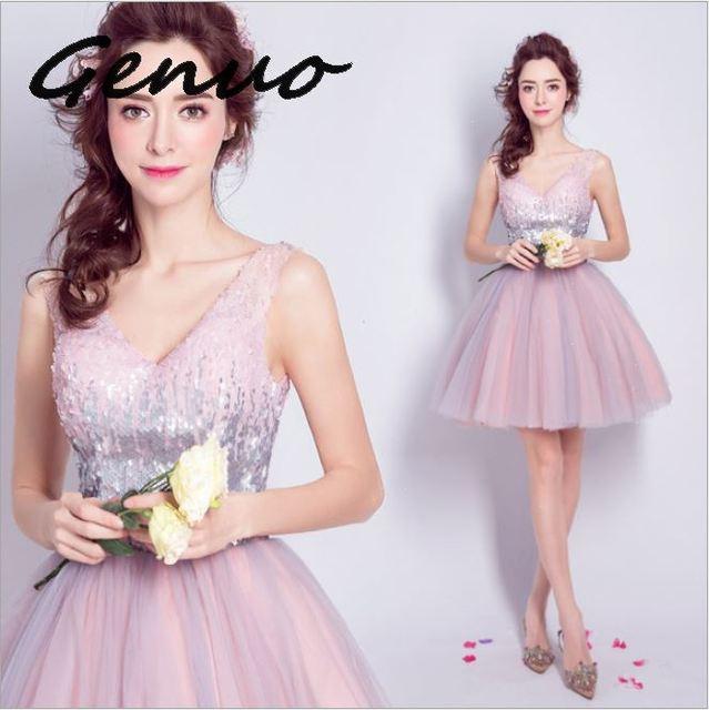 Genuo New 2019 Women Summer Sexy Off Shoulder Backless Dresses Female Irregular Neck Solid Color Elegant Split Dress 5980