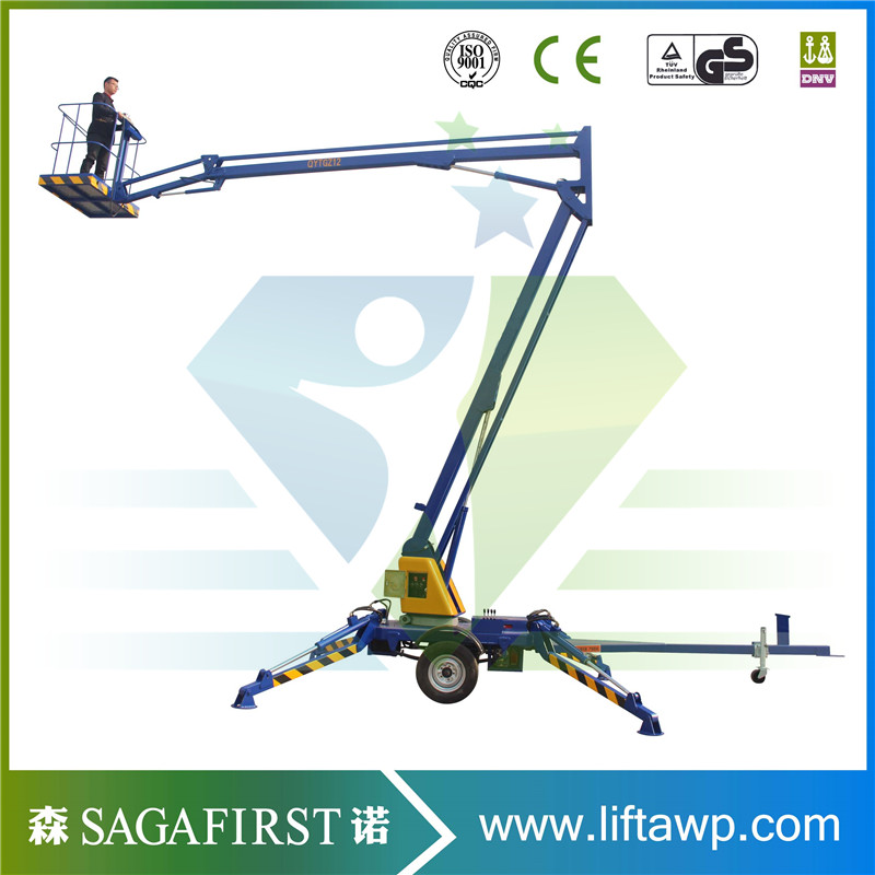 10m Iron Cherry Picker for Ce