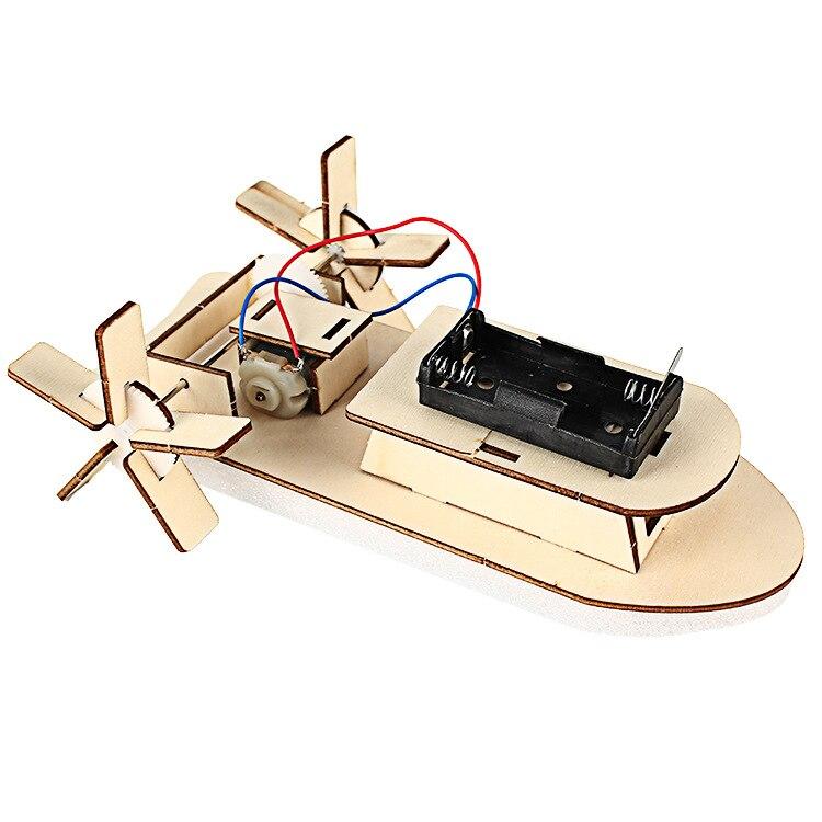 Pequeña tecnología DIY Ship Science Experiment Juguete educativo - Juguetes de construcción - foto 1