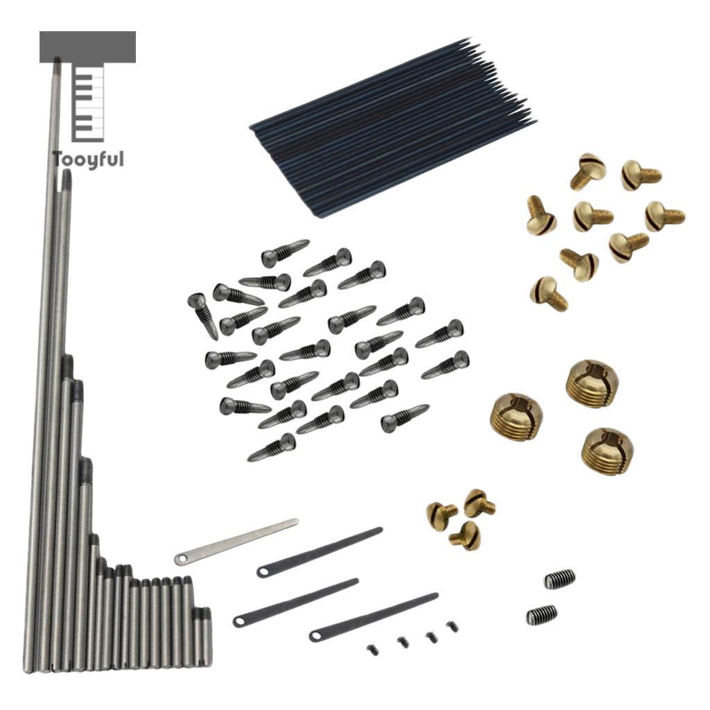 1 Set Alto Sax Saxophone Repair Parts Screws + Saxophone Springs Kit DIY Tool Woodwind Instrument Accessories