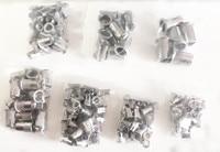 180PCS 304 Stainless Steel Rivet Nut Threaded Rivetnut Insert Nutsert M3 M4 M5 M6 M8 M10