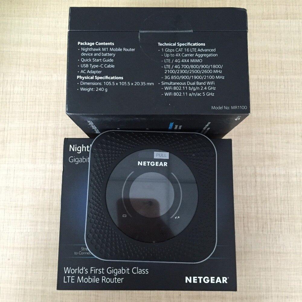 Sbloccato Netgear Nighthawk M1 MR1100 LTE CAT16 4GX Gigabit Router Mobile velocità WLAN PK E5788 Banda LTE 1/3 /7/8/20/28/38/40/41