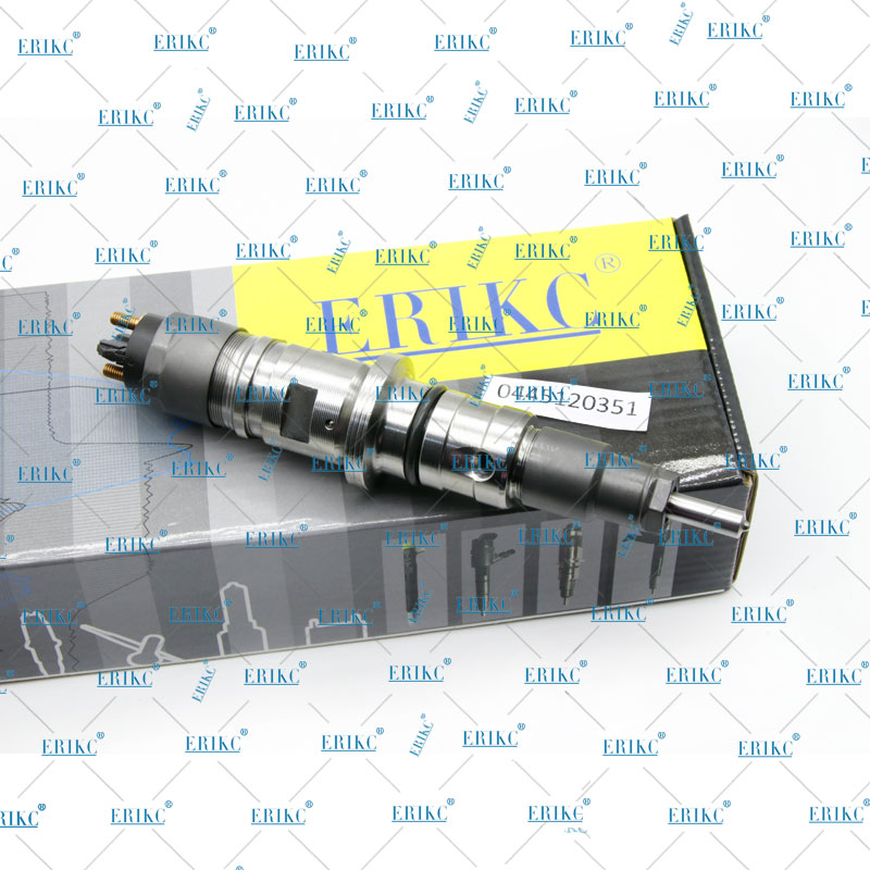 ERIKC Diesel Injector Assy 0445120351 Oil Fuel Inyector 0 445 120 351 for Iveco