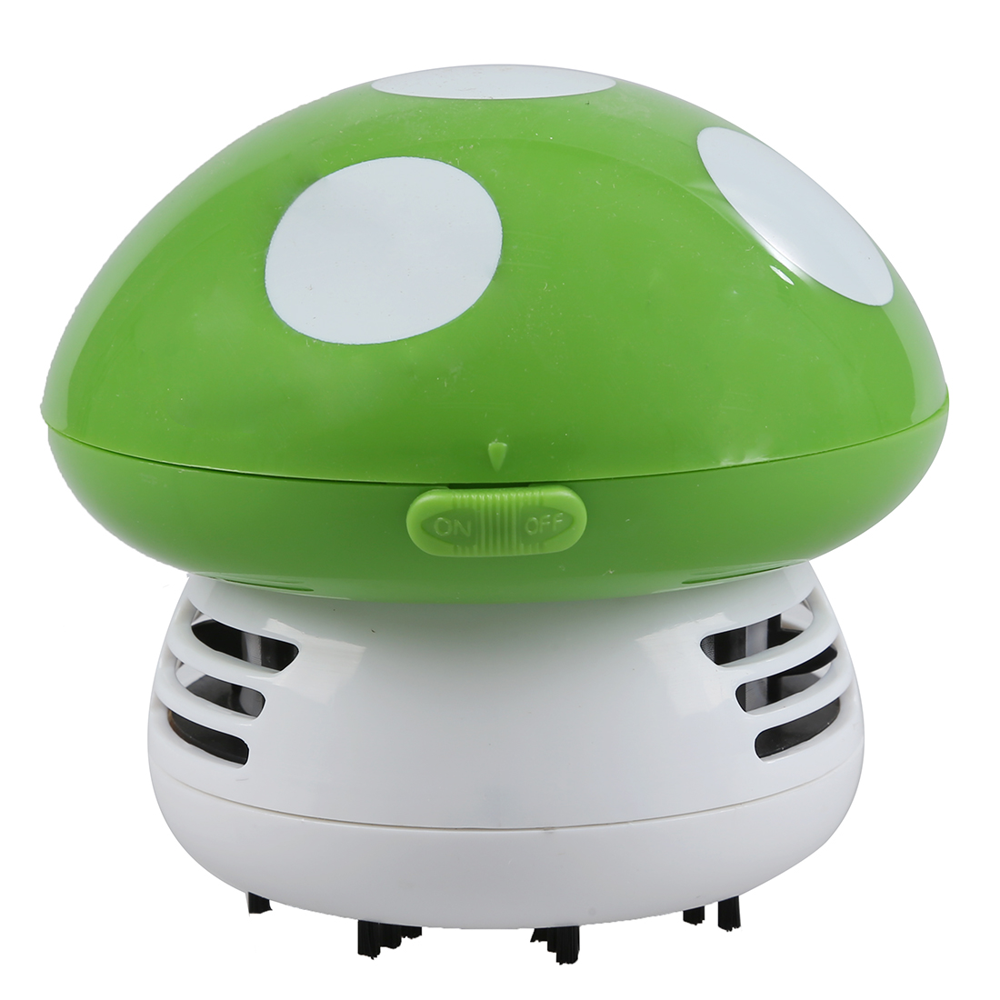 New Home Handheld Mushroom Shaped Mini Vacuum Cleaner Car Laptop keyboard Desktop Dust cleaner-green mint planner