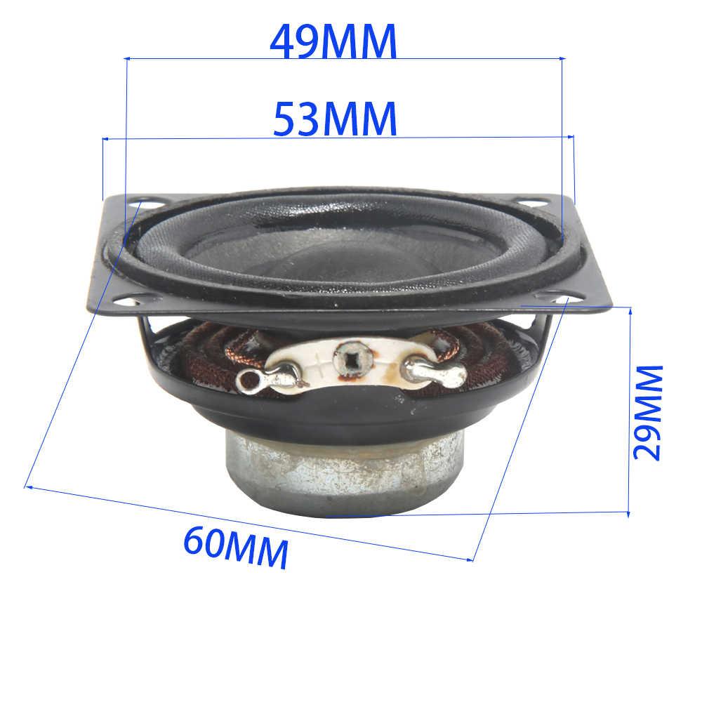 Tenghong 2 шт. 2-дюймовые аудио портативные колонки полный диапазон 8 Ом 10 Вт ВЧ СЧ сабвуфер громкоговоритель для домашнего кинотеатра DIY