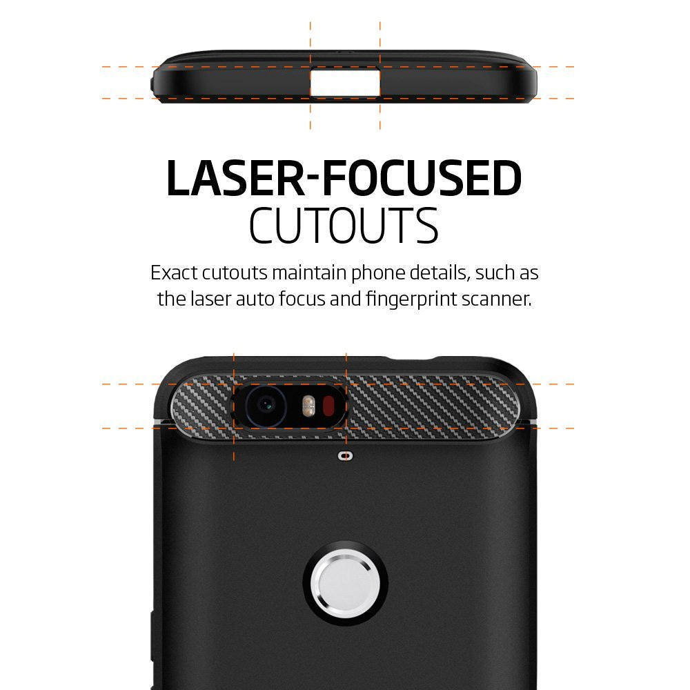 huge selection of 14015 e45ac US $16.99 |Aliantech Nexus 6P Case Rugged Armor SGP11797 Soft TPU Drop  Resistance Back Cover Case for Google Nexus 6P-in Fitted Cases from  Cellphones ...