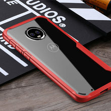 Transparent silicone anti-fall phone case for moto g6 g5s Cases Protective Mobile Phone Cover Cases for z2 z3 paly Accessories(China)
