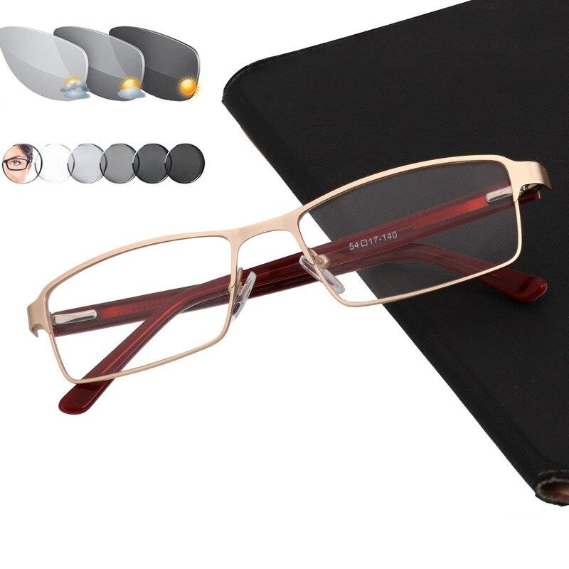 Sun Photochromic Men's Reading Glasses Glass Farsightedness +50 +75 +100 +125 +150 +175 200 +225 +250 +275 +325 +350 +375 +400