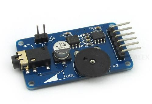 Free Shipping! WAV music player module sound playback voice broadcast modules Accessories