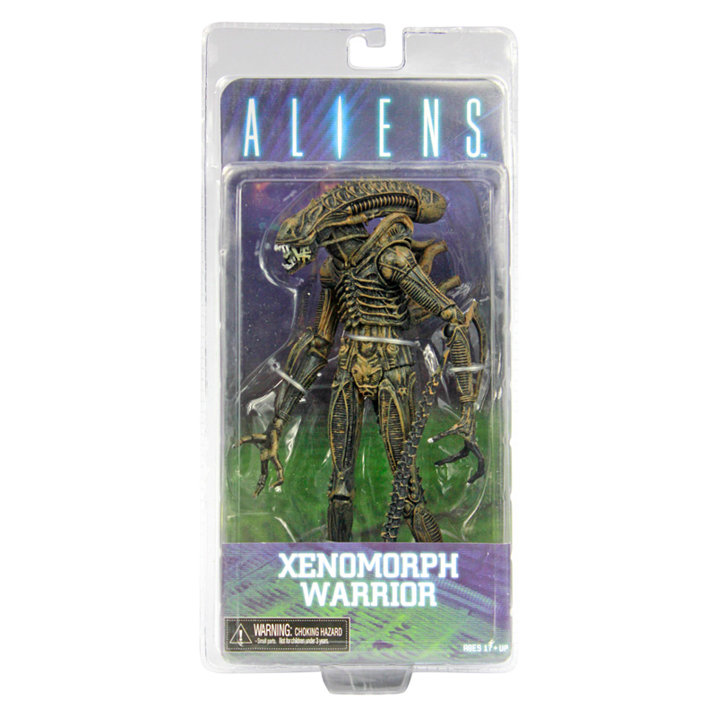 NECA Aliens Xenomorph Warrior Series PVC Action Figure New in Box 718CM neca aliens 1 4 scale xenomorph warrior super big pvc action figure collectible model toy 18 retail box ems free shipping wu600