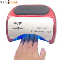48W Nail Dryer For Nail Polish Gel Fast Dry CCFL LED UV Lamp Nail Tools With
