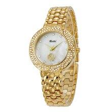 Top Marca de Moda de Lujo BELBI Relojes Mujeres Reloj de Cuarzo Ocasional Reloj Impermeable Relojes Reloj de Oro Para Horloges Vrouwen
