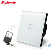 Remote Dimmer Switch EU Standard Controller Wall Light Touch Switch Including A Remote Control