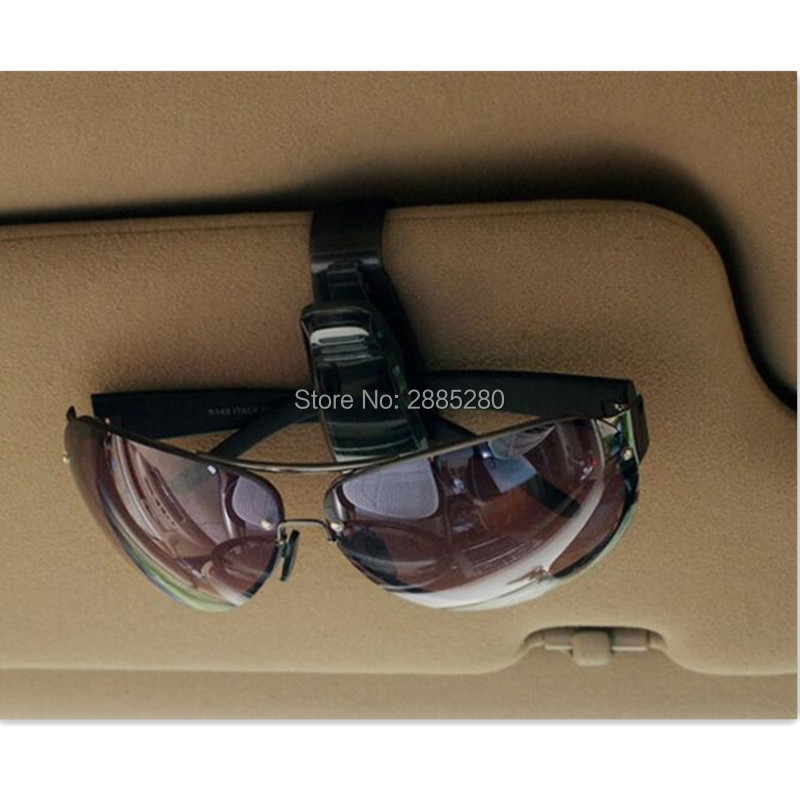 2019 Hot Sale Car Sun Visor glasses clip Accessories for <font><b>volvo</b></font> xc90 subaru forester honda fit mitsubishi lancer 9 kia sorento image
