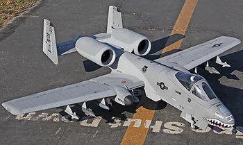 Scale Skyflight LX 1.4M RC A10 Warthog RTF Model Jet Plane Aerobatic 70MM EDF WESC&Motor model aircraft