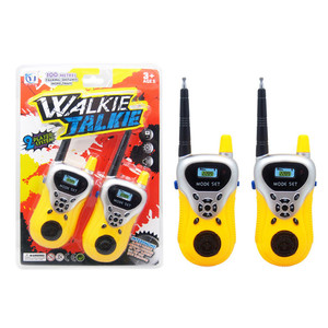 Children Toys Wireless Intercom 2PCS Two-Way Radio 100M Within Wireless Walkie Talkie Kids Portable Interactive Electronic Toys