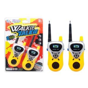 Children Toys Wireless Intercom 2PCS Two-Way Radio 100M Within Wireless Walkie Talkie Kids Portable Interactive Electronic Toys
