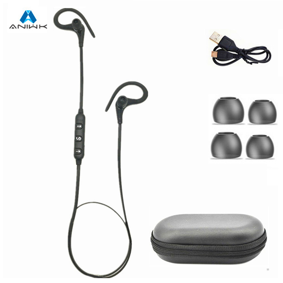 4.2Bluetooth Headset Sport Running  Wireless Earphone Headphone Bluetooth Earpiece Stereo Earbuds  Auriculares Microphone