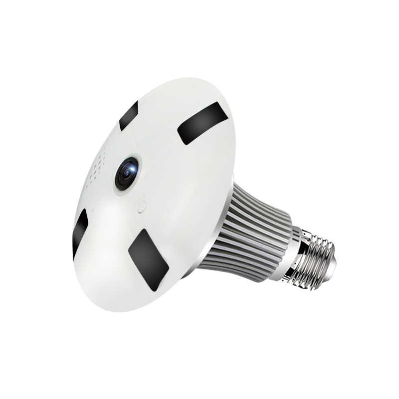 FAIYOU панорамная лампочка 360 VR 960 P 1080 P 1.3MP HD IP камера Умный светодиодный фонарь Cam звездный свет; ночное зрение лампа домашняя камера безопасности