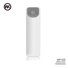 WKDESIGN mini Power Bank Przenośna ładowarka mi Powerbank Solar External Battery Pack dla iPhone X Xiaomi Battery Bank zasilacz tanie tanio Awaryjne przenośne 5V 1A RoHS CE FCC CCC Pojedynczy port USB 0-3000mAh Akumulator litowo-polimerowy ZŁĄCZE micro USB
