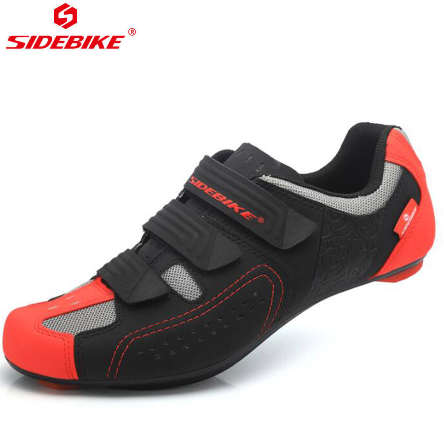 Sidebike Breathable Outdoor Bike MTB Athletic Cycling Shoes Road Bike Shoes Bicycle Racing Shoes Ciclismo Zapatos colour block breathable athletic shoes