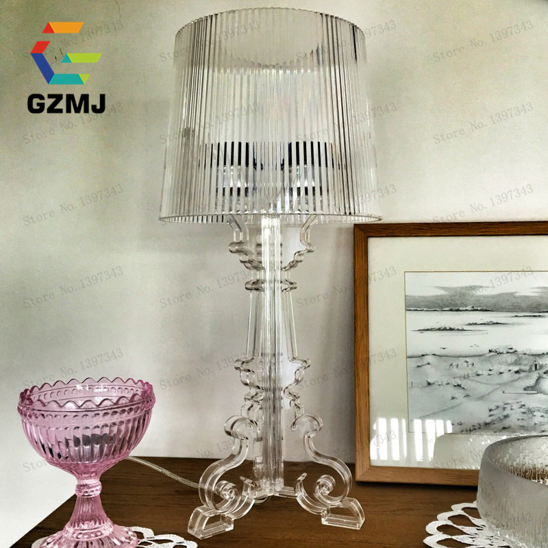 S:Dia 24cm/9.4 Modern Led Table Lamps For Bedroom Living Room Bedside Table Lamps Desk Lamp Luminarias Decorative Lamp Shade modren ghost shadows bedroom bedside table lamps with shade led table lamp e27 e26 acrylic reading desk lights dia 24 h52cm