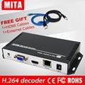 HD H.264 MPEG-4 AVC VGA + HDMI декодер для прямой трансляции на Youtube Wowza Facebook Ustream