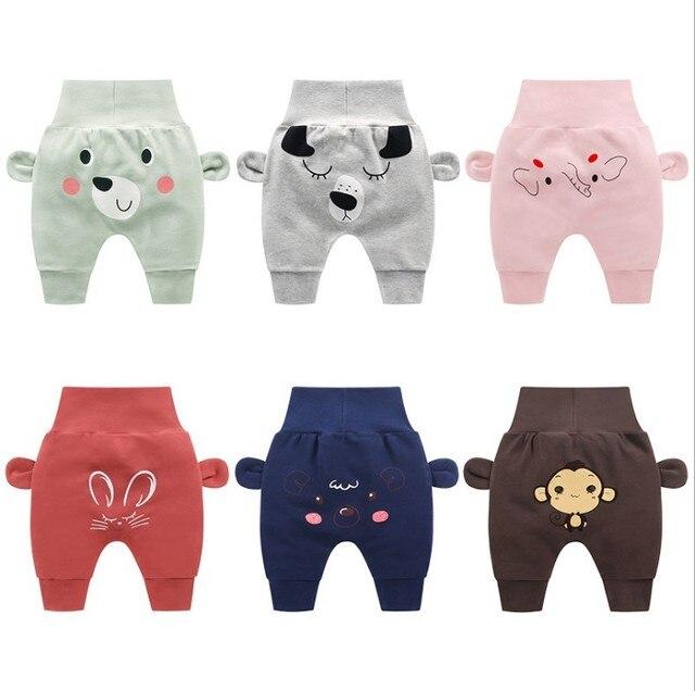 Детские штаны Новые весенне-осенние штаны для мальчиков и девочек Детские дизайнерские штаны с завышенной талией детские повседневные штаны