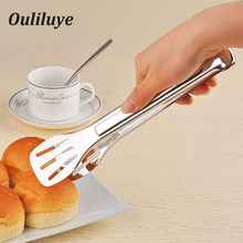 цена на Multifunction Tongs Stainless Steel Food Clip Bread Salad Buffet Tongs For Kitchen Cooking Baking BBQ Tong Kitchen Accessories