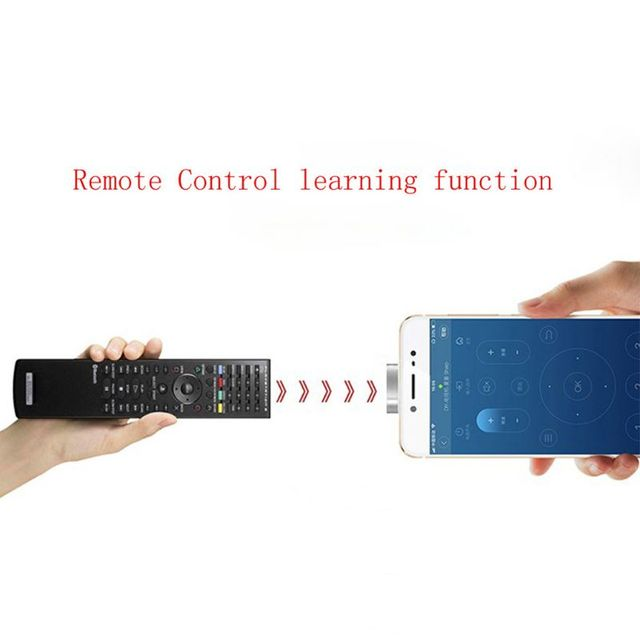 Universal Micro USB Air Conditioner/TV/DVD/STB IR Remote Control For Samsung Xiaomi Huawei Android Cell Phone Tablet