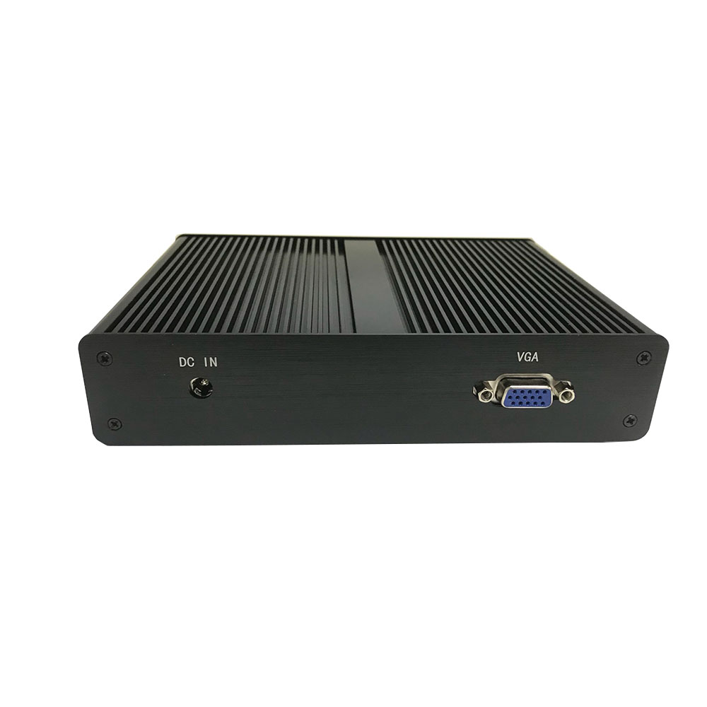 [CPU Intel Pentium J1900)] Fanless Windows7 Mini Pc 4*rj45 1000M Lan Pfense Soft Router Computer Vga Output Windows10 Mini Pc