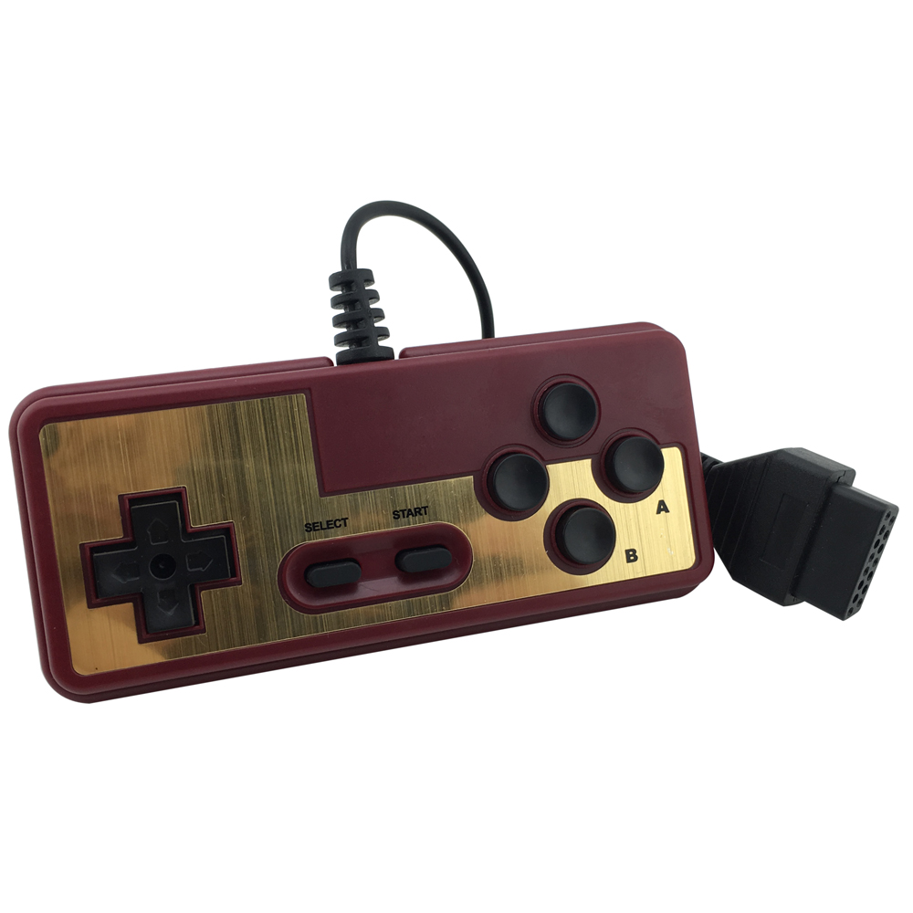 xunbeifang For Japanese 8-bit console style 15Pin Plug Cable Controller For NES For FC