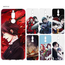 Black Butler Anime Cartoon Soft TPU Case for Huawei Mate 10 20 P10 P20 P30 Honor 9 10 Lite Pro P Smart 2019 Rubber Cover Shell(China)