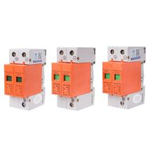 цена на 1PC HYS4 Surge Protective Device SPD House DC Lightning Surge Protector 2 Pole 20KA~40KA
