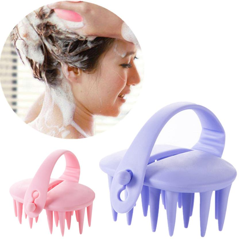 1PC Hair Shampoo Scalp Brush Body Brush Comb Conditioner Clean Head Care 2U0122