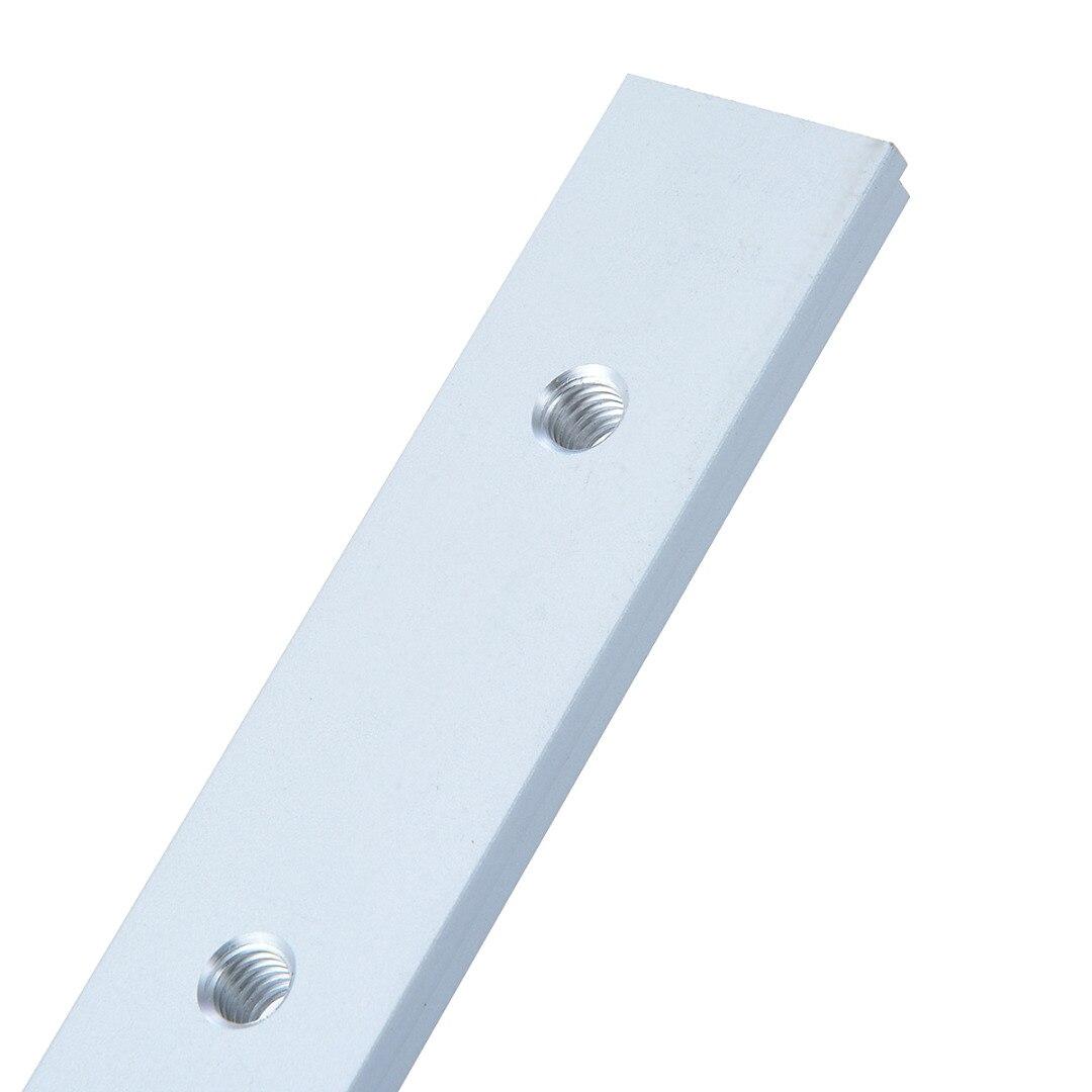 Купить с кэшбэком M6 200mm Slide Slab T Track Slot For T-slot T-track Miter Track Fixture Slot Router Table Woodworking Tools