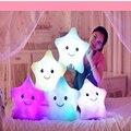 Valentines Gift star light pillow, plush toys Valentines Gift LED Light Pillow color star light pillow, Christmas Speelgoed