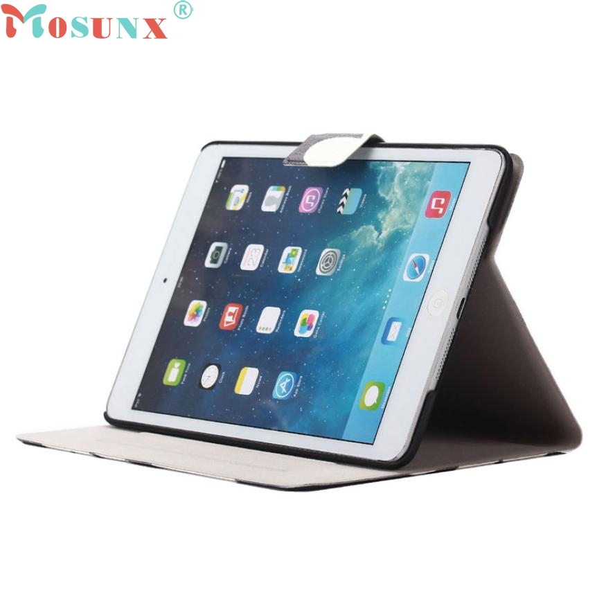 Top Quality Hot Sale Fashion Mosunx Elephant Stand Flip Leather Case Skin Cover for ipad mini 1/2/3 Retina JUN 23 mosunx mecall tech new butterfly patterns flip stand case cover for ipad mini 1 2 3 retina