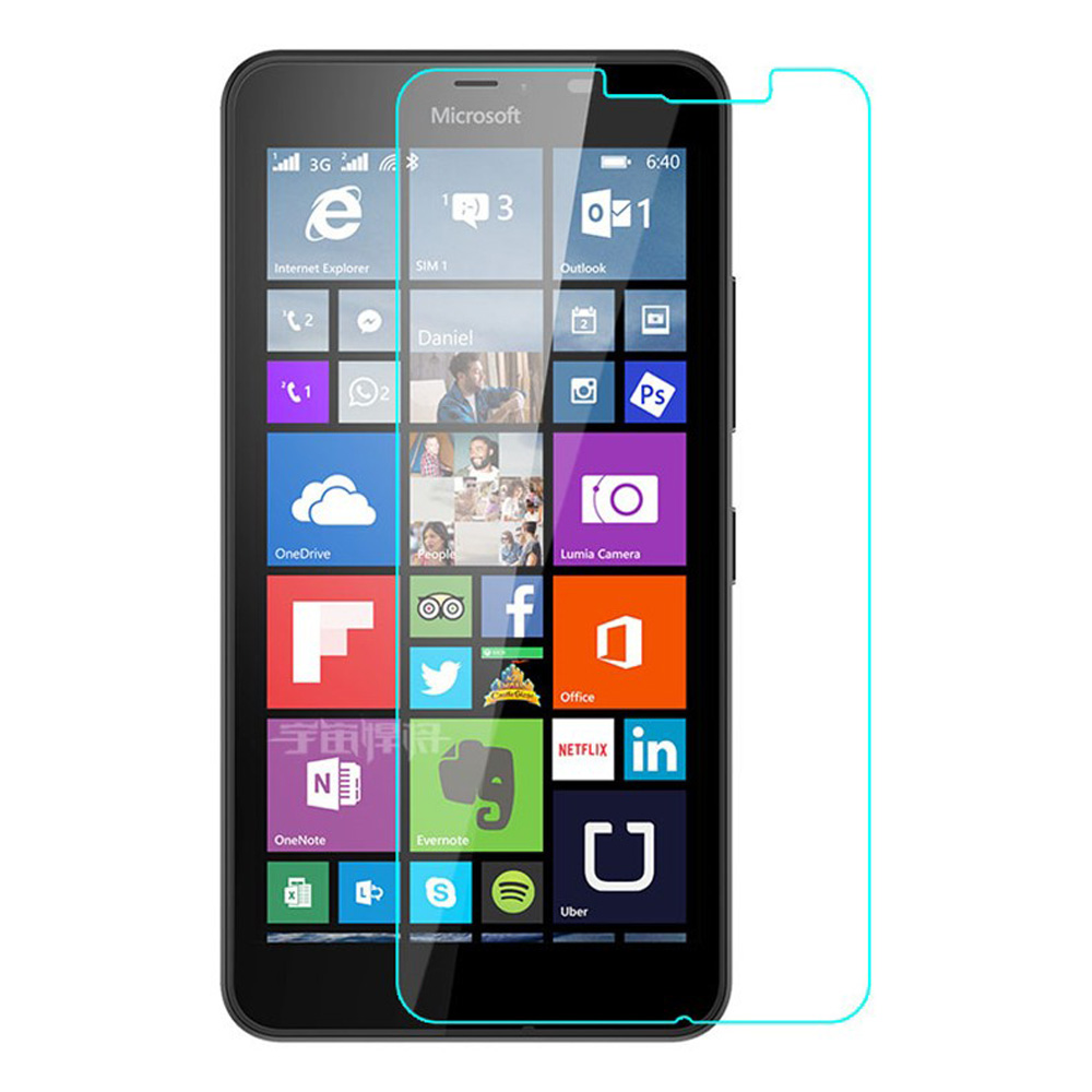 10pcs Screen Protector For Microsoft Lumia Nokia 640 Xl 640xl Explosion-proof Tempered Glass Protective Front Glass Film Tools
