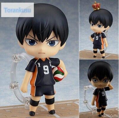 Haikyuu Action Figure 489 kageyama tobio Nendoroid 10CMM Haikyuu Nendoroid kageyama tobio Model Toy Doll Pallavolo Figura 489 #