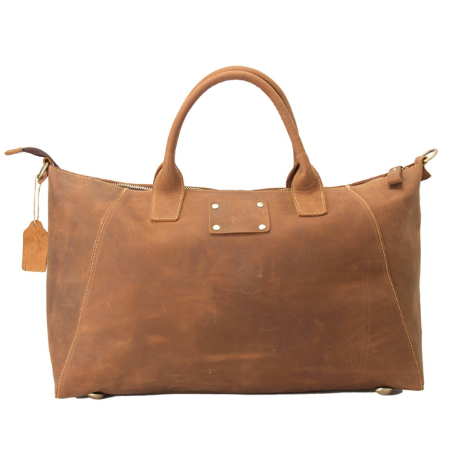 b558fdbb311 ROCKCOW Vintage Style Genuine Leather Briefcase Men Leather Handbags  Messenger Shoulder Bag ZB03