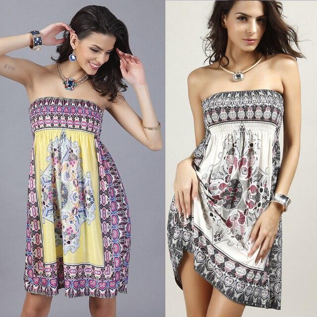 strapless jurk strand