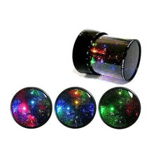 LED Night Light Projector Sky Star moon Master Children Kids Sleep Romantic colorful Led Projection lamp(China)