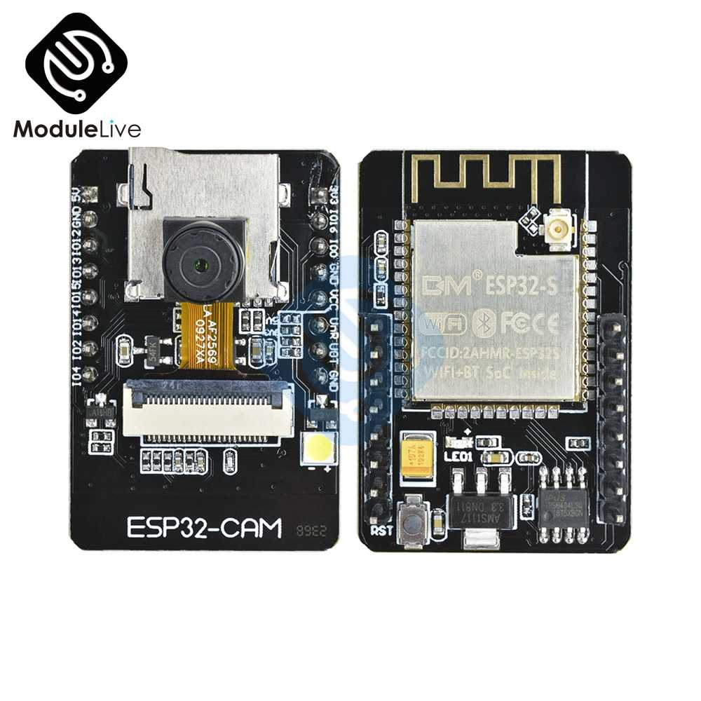 OV2640 DC 5V Dual-core 32bit ESP32-CAM Wifi Wireless Bluetooth ESP32 Module Camera Development Board WiFi 2MP TF Card CPU OV7670