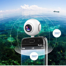 Panoramic-Camera Smartphone Android 360 210-Degree Dual for Fisheye-Lens Wide-Angle
