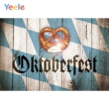 Yeele Oktoberfest Festivals Carnival Party Photo Backgrounds Toast Wood Board Custom Photography Backdrops For Studio