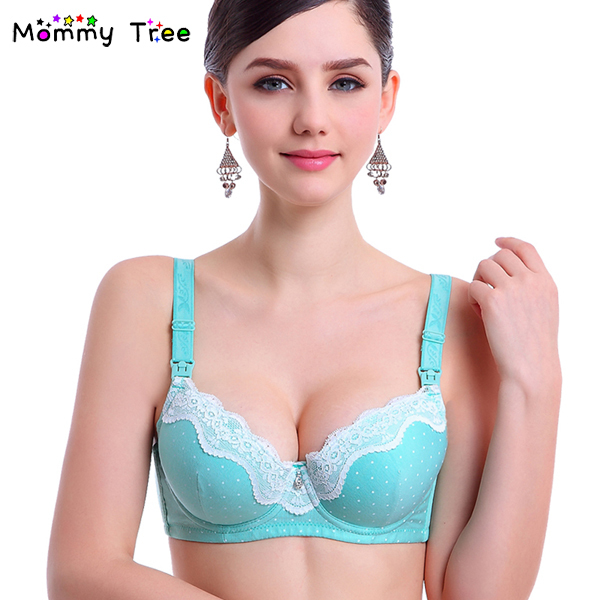 21f70b3f87 Nursing Bra Maternity Lingerie for Pregnant Women Cotton Maternity Bra  Nursing Clothes Breastfeeding Underwear Pregnancy Bras