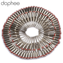 "Dophee 20pcs 2.35 มม.3/32 ""Dental Lab Polishing Shank Mandrel Burs โรตารี่เครื่องมืออุปกรณ์เสริมผลิตภัณฑ์ทันตแพทย์ทันตกรรม Mandrels อะไหล่"