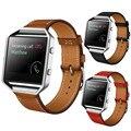 Новое Прибытие Высокого Качества Роскошные Кожаные Смотреть Группы 23 мм Ремешок Fitbit Blaze Смарт Спортивные Часы Для Женщин и Мужчин Корреа Reloj