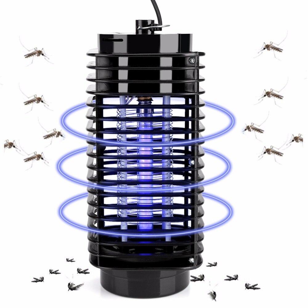 Электронные Mosquito Убийца лампы насекомых Zapper ошибки убийца комаров Fly Stinger вредителей Zapper Fly Управление УФ ловушка лампы нам разъем